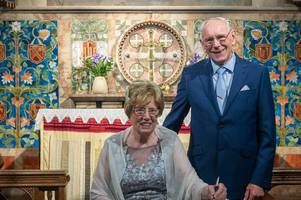 84 and 86 year old couple tie the knot in tamworth