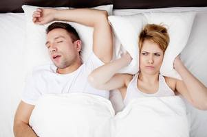 Britain's biggest snorers wanted for new TV show - here's how you or your partner can apply