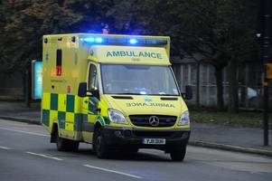 Emergency services rush to 'bad accident' on A52