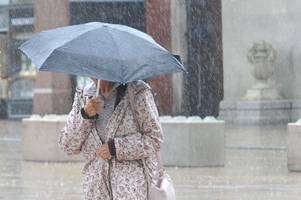 here is the pour-cast: august could be wettest ever recorded in soaking britain