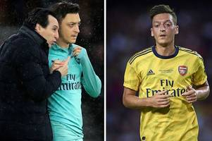 Mesut Ozil transfer talks held in America as DC United try to persuade Arsenal ace to join
