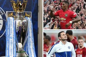 supercomputer predicts premier league fixtures including man utd romp and chelsea joy
