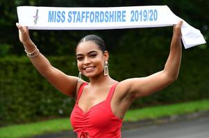 'i overcame the racists and now i'm miss staffordshire!' - christina, 23, has now set her sights on the fight against cancer