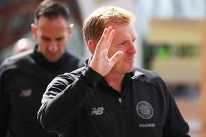 celtic vs dunfermline - in pictures