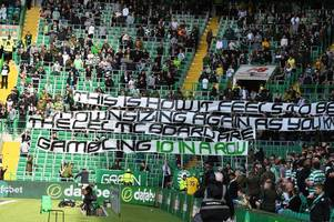 green brigade update brendan rodgers' celtic chant to fire '10-in-a-row gamble' warning to board