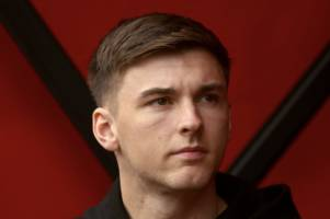 kieran tierney gets taste of arsenal action as former celtic hero takes his place at emirates
