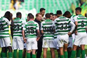 neil lennon reveals pride in celtic players as hoops produce show-of-strength huddle after dunfermline win