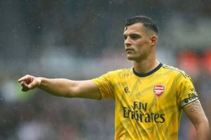 granit xhaka reveals what impressed him most about arsenal's new signings