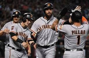 Belt's grand slam helps Giants top D-Backs 11-6