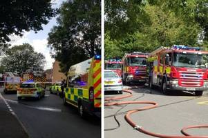 Live updates: Woman and child rescued after Bulwell house fire