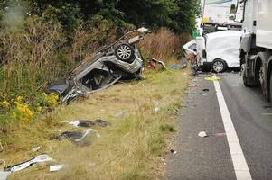 why you shouldn't use your phone while driving: heartbroken family want every driver to watch devastating footage before crash which killed mum and three children