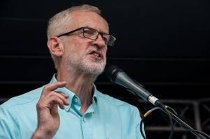 jeremy corbyn's caretaker prime minister plan dented after top tory snubs labour leader
