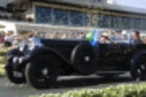 1931 bentley 8 litre gurney nutting sports tourer wins 2019 pebble beach concours d'elegance