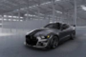 ford creates one-off 2020 mustang shelby gt500 venom for charity