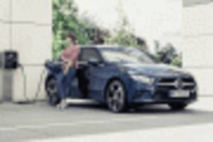 mercedes' third-gen plug-in tech filters down to compact range