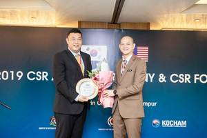 Q CELLS Malaysia Factory awarded 'Best CSR Company Award' from the Embassy of the Republic of Korea in Malaysia