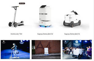 segway-ninebot unveils new ai-powered products, delivering take-out with low-cost deliverybots