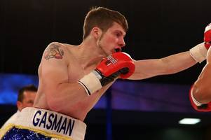 'i'm gutted' - bristol boxer duane winters beaten in first round of bantamweight title fight against kash farooq
