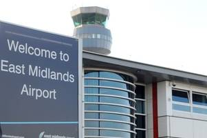 Flights to East Midlands Airport delayed - with one diverted - because of thunderstorms