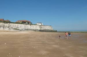warnings in place not to go in the sea at these kent beaches