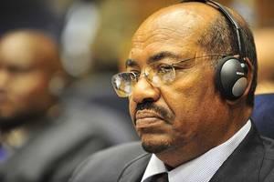sudan's ex-president bashir arrives at corruption trial