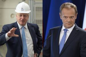 Boris Johnson outlines Brexit 'Backstop' demands in letter to EU chief Donald Tusk