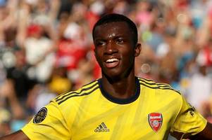 the reason arsenal loanee eddie nketiah dropped down to play for leeds united u23s explained