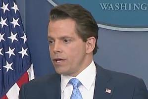 trump renews attack on 'this dope' anthony scaramucci with mashup video (video)