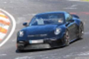 2021 porsche 911 gt3 touring spy shots