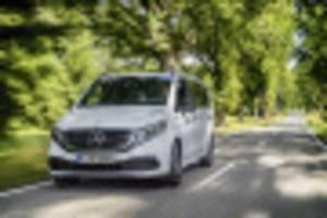 mercedes-benz eqv electric minivan revealed