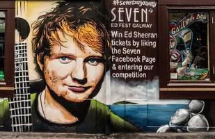 english town celebrates local hero ed sheeran