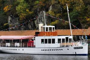 steamship operator blames devastating landslip for fall in visitors to loch katrine