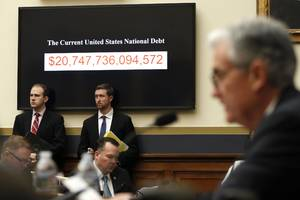 the us deficit is set to top $1 trillion 2 years sooner than expected