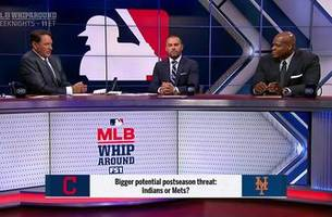 indians or mets: who poses bigger potential playoff threat?   mlb whiparound