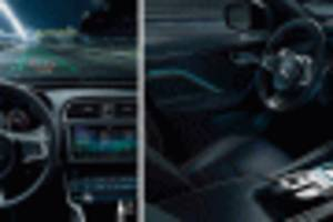 jaguar land rover developing augmented reality tech for head-up displays