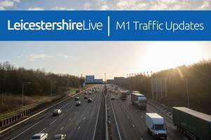 live updates: m1 partially blocked in both directions after 'police incident'