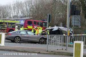 man charged over city crash which left 3 in hospital