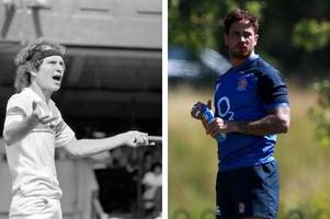 'you cannot be serious'! danny cipriani hangs out with tennis legend john mcenroe during usa retreat