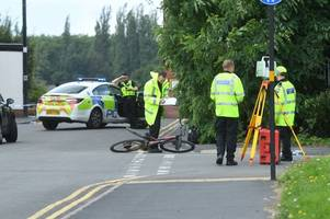 live updates - cyclist hit by car on reservoir road in edgbaston