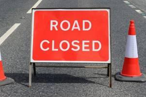 live updates as building fire blocks road in helston