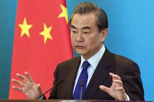 chinese foreign minister wang yi urges japan and south korea to keep talking to end ...