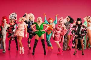 rupaul's drag race uk unveils the 10 queens for the first series