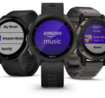 Amazon Music is now available on Garmin® smartwatches