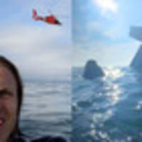 Survival selfie: Plane crash passengers celebrate surviving in ocean