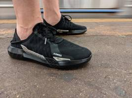 these 'gamer shoes' are terrible, overpriced, and a perfect example of why 'gaming'-branded stuff sucks