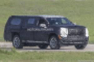 2021 chevrolet suburban spy shots