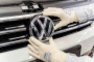 volkswagen to debut new brand logo in frankfurt