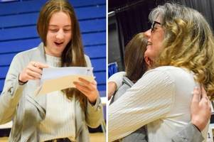 stunning gcse grades for teen who missed months of school over back agony