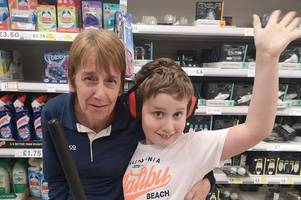 how tesco hull worker's incredible act of kindness made a huge difference for harry, 9, with autism