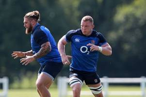 england vs ireland team news - three bath rugby players in the matchday 23 for rugby world cup warm-up
